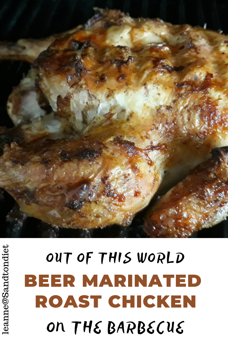beer marinated roast chicken