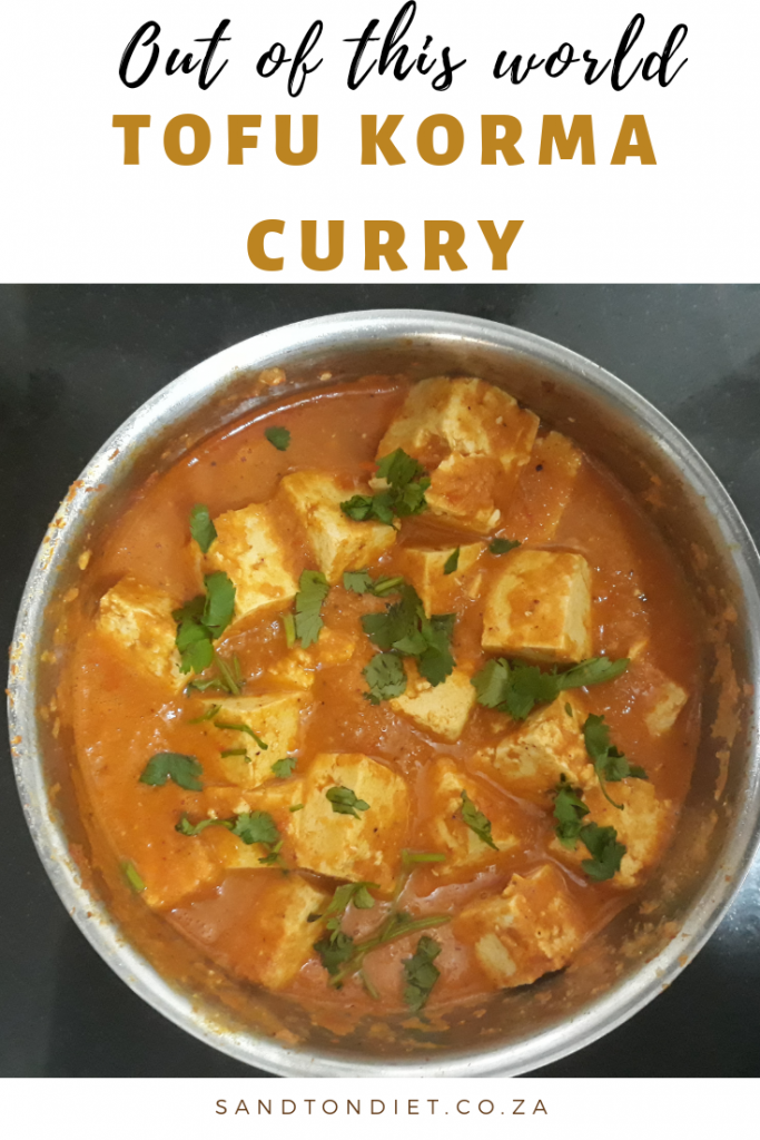tofu korma curry recipe