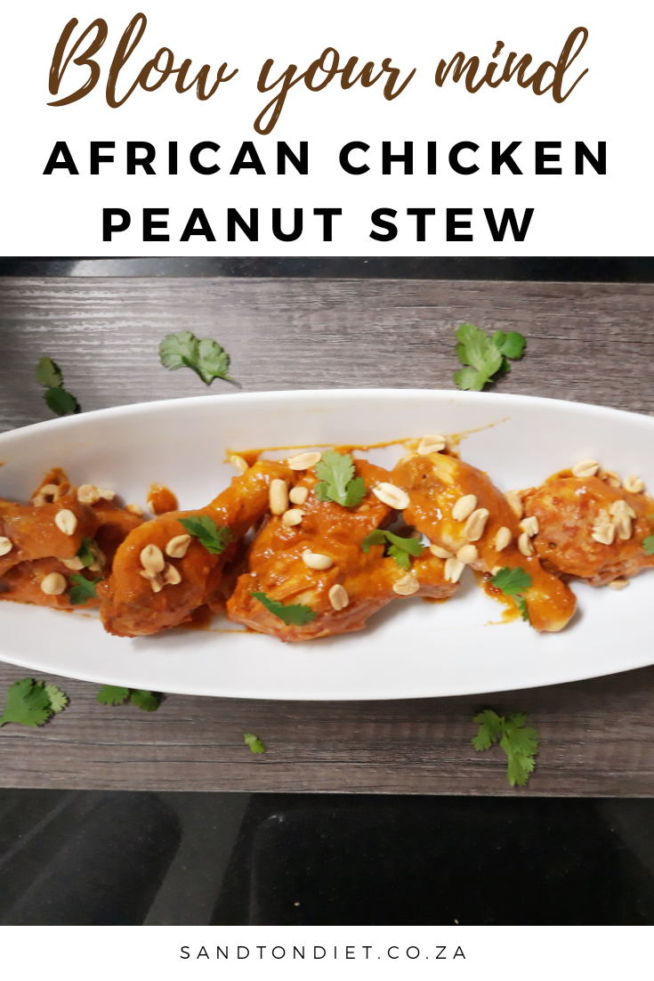 african peanut chicken stew